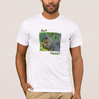¿Nueces conseguidas?  Camiseta de la ardilla