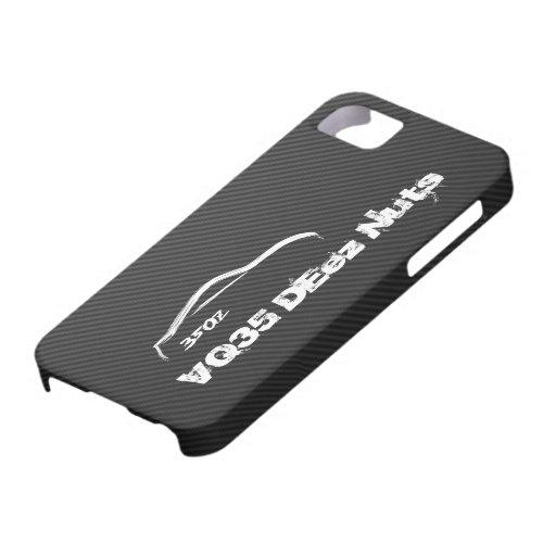 nueces de 350z VQ35 DEez iPhone 5 Carcasa