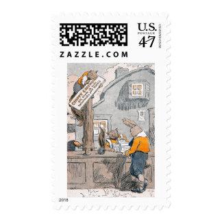 Nueces de compra del conejito de Chipmunks Timbres Postales