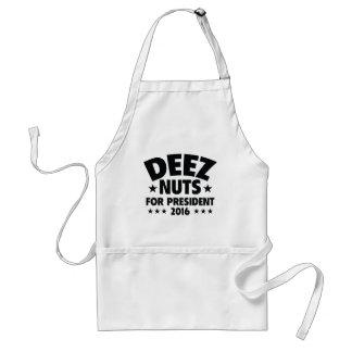 Nueces de Deez para el presidente Delantal
