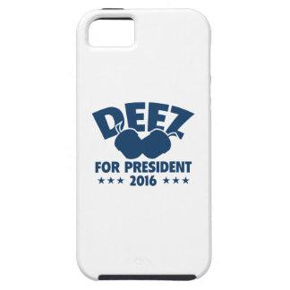 Nueces de Deez para el presidente iPhone 5 Carcasa
