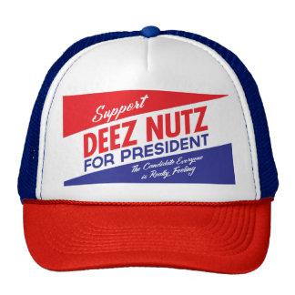Nueces de Deez para el presidente Gorra