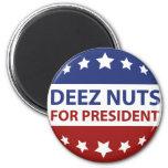 Nueces de Deez para el presidente Imán Redondo 5 Cm