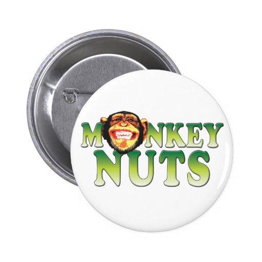 Nueces de mono pin redondo 5 cm