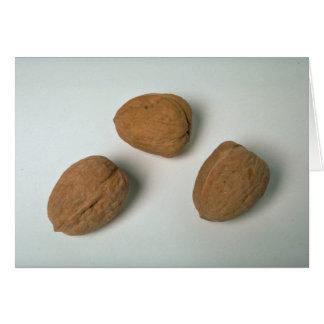 Nueces de Nutritionous Tarjeta De Felicitación