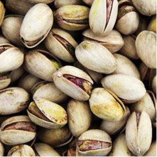 Nueces de pistacho adorno fotoescultura
