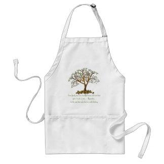 Nueces del árbol de familia delantal