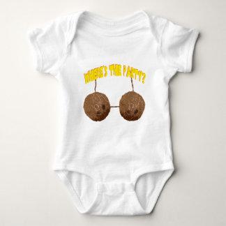 nueces del fiesta body para bebé
