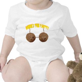 nueces del fiesta trajes de bebé