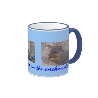 Nueces idas tazas de café