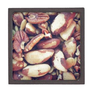 Nueces mezcladas caja de regalo de calidad