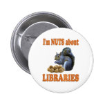 Nueces sobre bibliotecas pins
