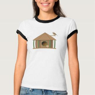 NUECES sobre la camiseta de los BirdHouses Playera