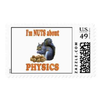 Nueces sobre la física sellos