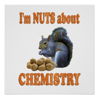 Nueces sobre química póster