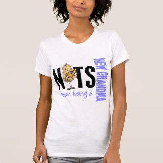 Nueces sobre ser un nuevo azul de la abuela 1 camisetas