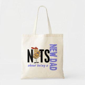 Nueces sobre ser un nuevo papá 1 (azul) bolsa