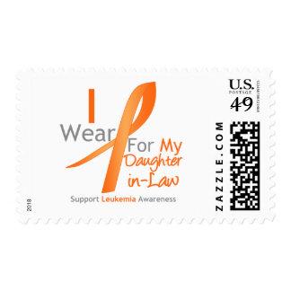 Nuera anaranjada de la cinta del desgaste de la timbres postales