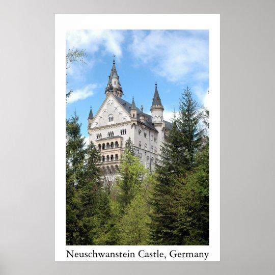 Nueschwanstein Castle Poster
