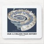 Nuestra 4,5 mil millones historias del año (cronol alfombrilla de ratones