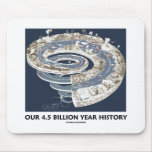 Nuestra 4,5 mil millones historias del año alfombrilla de ratones