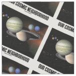 Nuestra astronomía cósmica de la Sistema Solar de Telas