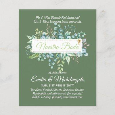 Nuestra Boda Spanish Greenery Eucalyptus Wedding