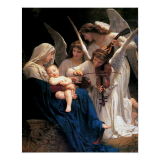 Nuestra canción de la señora Virgen María del Póster