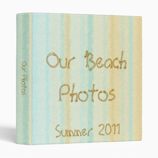 Nuestra carpeta de la foto de la playa