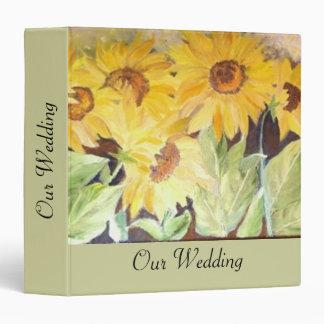 nuestra carpeta del álbum del boda