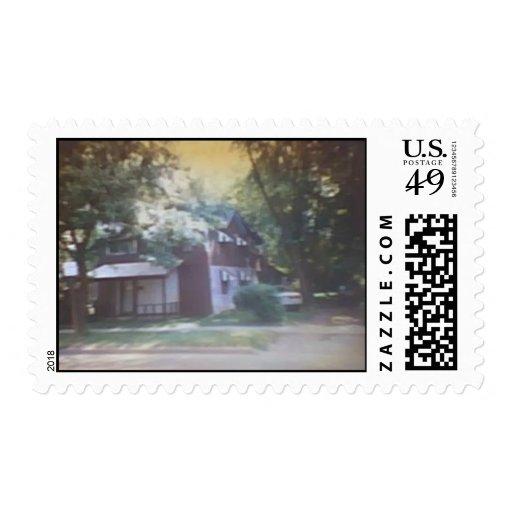 Nuestra casa vieja en el St. de 519 W. Clinton Estampillas