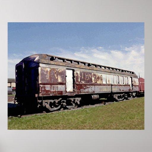 Nuestra herencia del ferrocarril impresiones