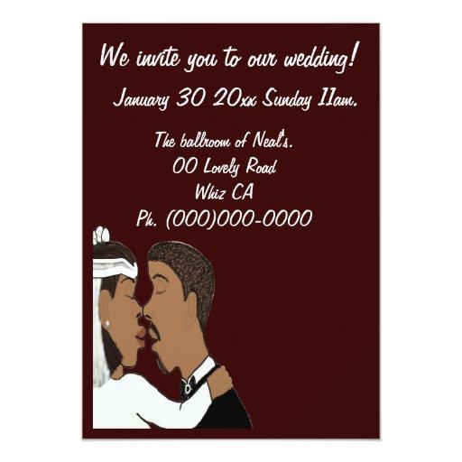 Nuestra invitación del boda