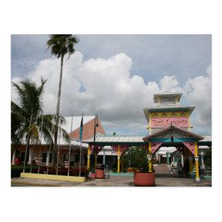 Nuestra isla de Bahama magnífica del puerto franco Postales