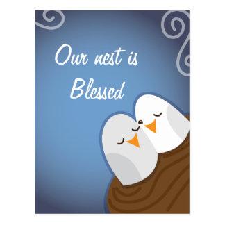 Nuestra jerarquía se bendice con los pájaros del postales