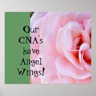 ¡Nuestra LATA tiene alas del ángel! posters que