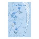 Nuestra nueva adición en tonalidades azules papelería