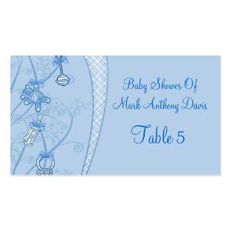 Nuestra nueva adición en tonalidades azules tarjetas de visita