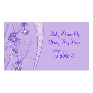 Nuestra nueva adición en tonalidades púrpuras tarjetas de visita