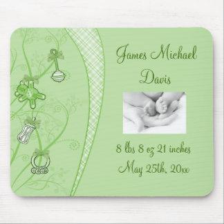 Nuestra nueva adición en tonalidades verdes tapetes de ratones