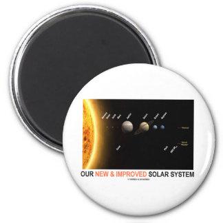 Nuestra nueva y mejorada Sistema Solar (humor galá Imán Redondo 5 Cm
