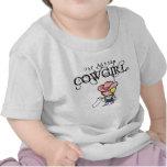 Nuestra pequeña camiseta de la vaquera para los ni