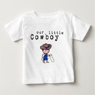 Nuestra pequeña camiseta del vaquero para los