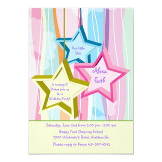 Nuestra pequeña invitación de la estrella