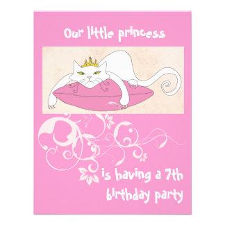 Nuestra pequeña invitación de la fiesta de cumplea