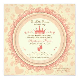 Nuestra pequeña invitación de la princesa fiesta