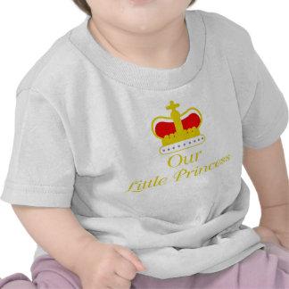 Nuestra pequeña princesa camisetas