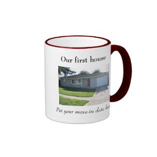 Nuestra primera taza de la casa
