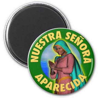Nuestra Señora Aparecida 2 Inch Round Magnet