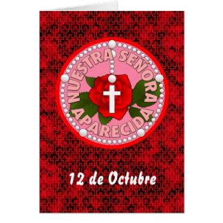 Nuestra Señora Aparecida Card